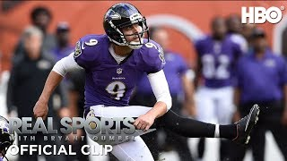 Real Sports with Bryant Gumbel: Center Stage ft. Justin Tucker (Clip) | HBO