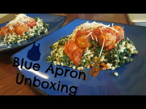 Blue Apron Unboxing and Cooking