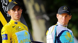 The Lance Armstrong and Alberto Contador Rivalry