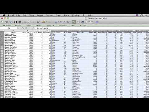 How to Select Multiple Columns & Rows in Microsoft Excel : MS Excel Tips