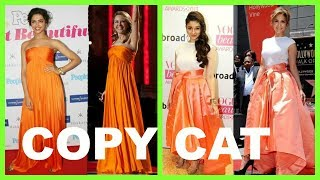 style copied by bollywood actresses from Hollywood/latest bollywood gossips