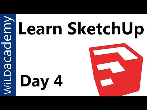 SketchUp Tutorial - 4 - Materials