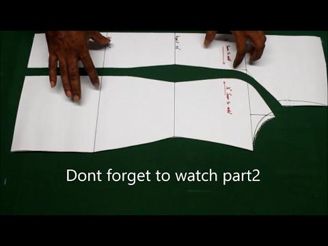 Princess cut kurti pattern making tutorial explained (english),how to cut Princess cut kurti, kameez