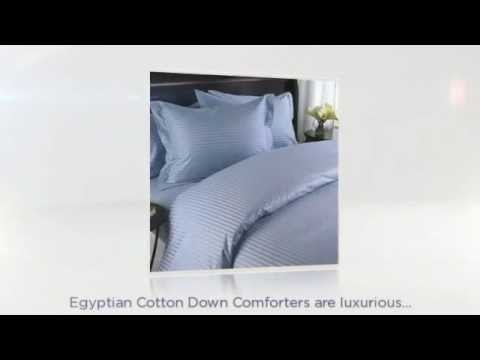Egyptian Cotton Down Comforters