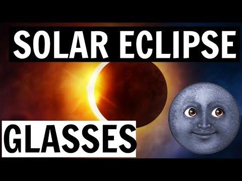 5 MIN SOLAR ECLIPSE GLASSES