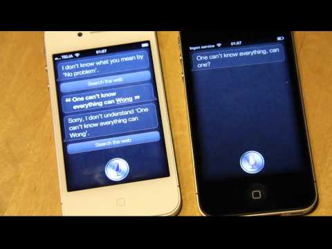 Siri Meets Siri! Two iPhone 4S! Steve Jobs Revolutionary Product Finally Talks! Magical