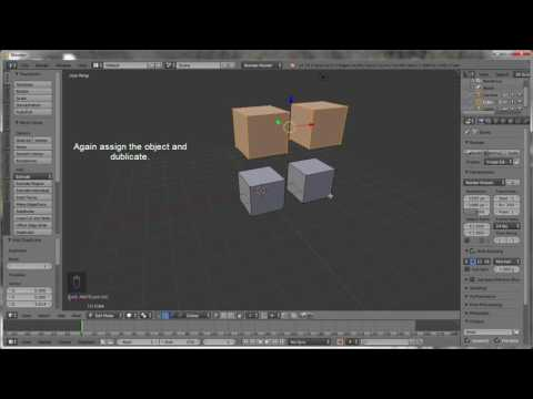 Blender How To Duplicate Object ? ( For beginners)