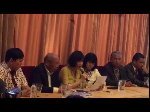 ANTARANEWS - Veronica Tan menangis saat bacakan surat dari Ahok