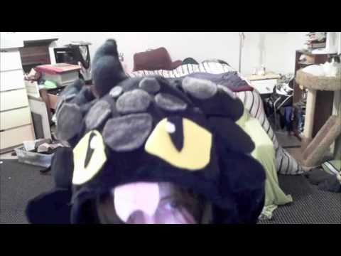 Handmade Toothless Costume (halloween 2010)