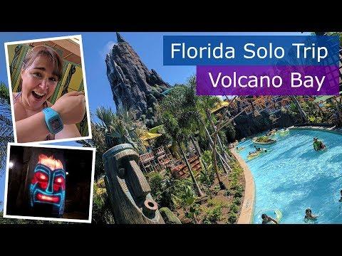 Day 9 | Universal's Volcano Bay first visit | Walt Disney World solo trip | Florida 2017