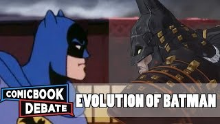 Evolution of Batman in Cartoons in 45 Minutes (2018)