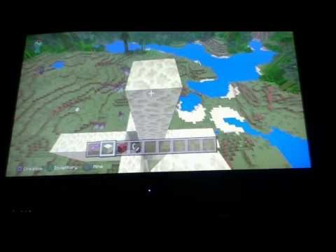 How to make a rocket ship on minecraft ps3