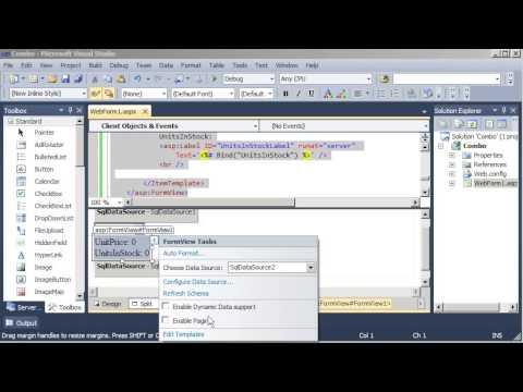 07 - DropDown enlazado con FormView - asp.net