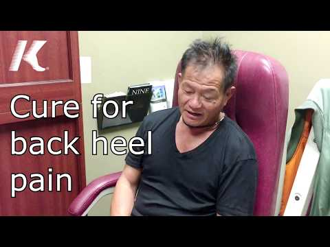 How Herbal injections cured back of the heel pain.  Patient: Xuan Nguy
