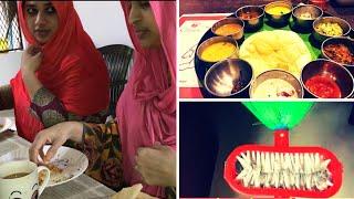 Day Vlog I Recipes- Poricha Pathiri & Green peas- Mushroom Masala I Deep Cleaning I TasteTours