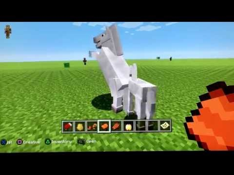 Minecraft Brothers - How to Ride a Horse! (Creative Mode)