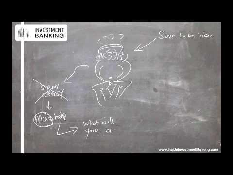 Investment Banking Internship Prep