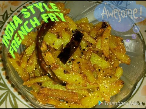 INDIAN STYLE FRENCH FRY