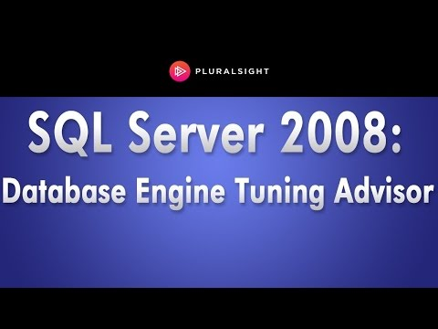 SQL Server 2008 Database Engine Tuning Advisor Demo