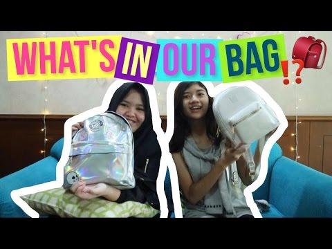 APA DIDALEM TAS YOUTUBERS?! // What's In My Bag ft. Cantika Putri