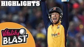 Download Worcestershire v Essex | FINAL - Highlights | Vitality Blast Finals Day 2019 Video