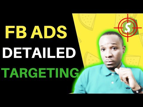 Detailed Targeting for Facebook & Instagram Ads (Shopify Dropshipping)