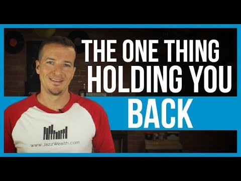 It's not the lack of investing information that's holding you back....