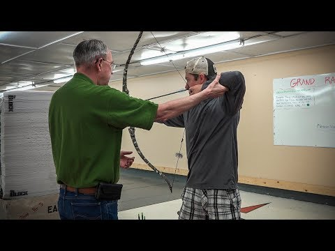 Archery Form with Arne Moe