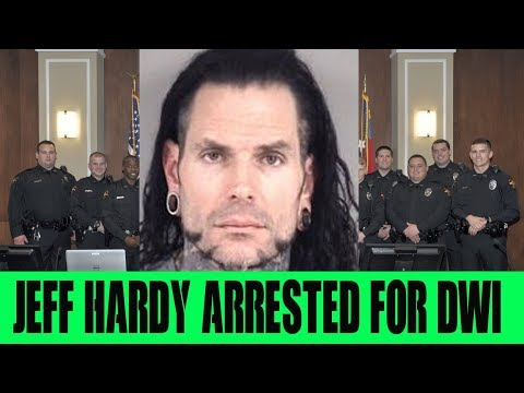 Jeff Hardy ARRESTED for DWI Will HE Return to WWE 2018
