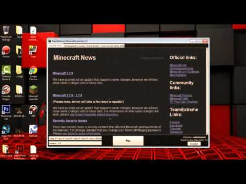 Descargar Launcher Minecraft Pc Full Actualizable 1.7.4-1 7 5-1 7 9 2014