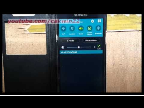 Samsung Galaxy S5 : How to Find WiFi MAC Address (Android Phone)