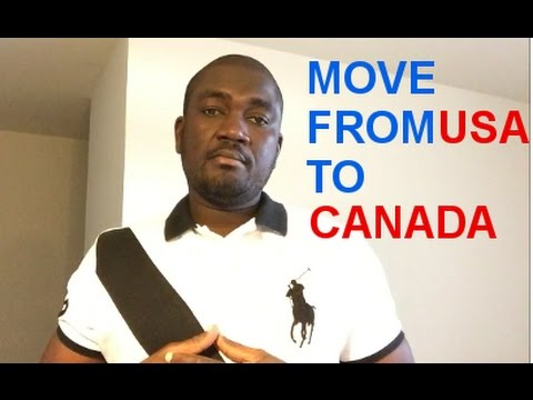 MOVE TO CANADA FROM USA