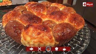 """#x202b;المطبخ -  طريقة كيك بالكاكاو بشكل مميز جدا 🍪"""" خلية النحل"""" مع الشيف أسماء مسلم#x202c;lrm;"""