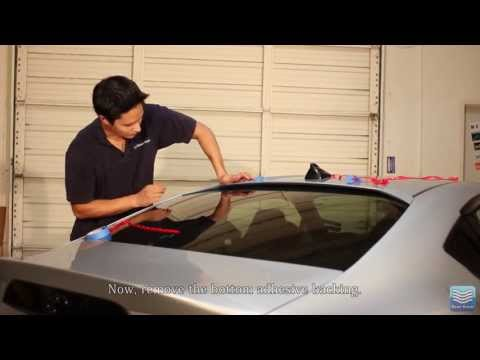 Beat-Sonic FRW1 Roof Spoiler Installation Video