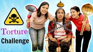 TORTURE Challenge | #Gameplay #Roleplay #Fun #Sketch #Anaysa #ShrutiArjunAnand