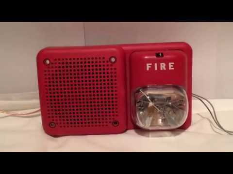 Fire Alarm Voice Evacuation Message With