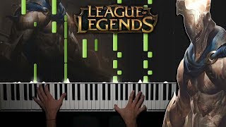 Pantheon Theme | League of Legends - Piano Cover 🎹