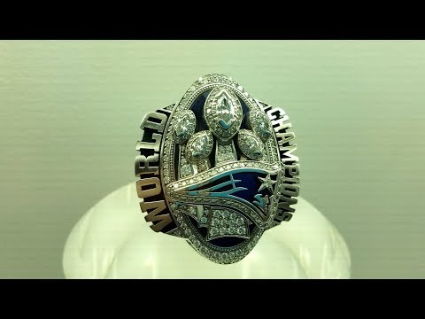 Every Super Bowl Ring From #1 to #51