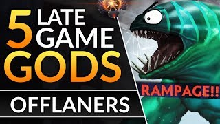 5 BEST Offlaners to DESTROY Late Game: Drafting and Meta Tips | Dota 2 Guide 7.22D