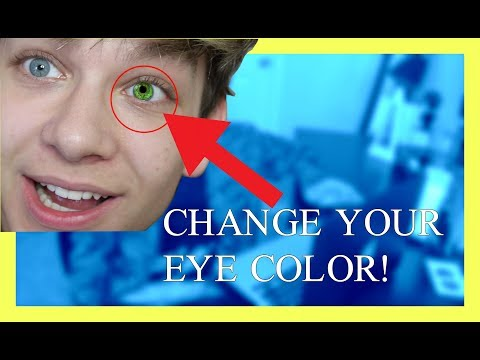 CHANGE YOUR EYE COLOR FOR ONE MINUTE *100% WORKS*