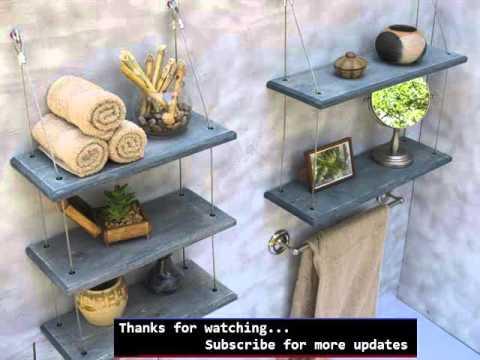 Wall Storage Shelves Picture Ideas | Shelving Bathroom