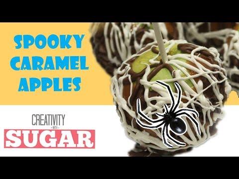 How To Make Caramel Apples | Easy DIY Halloween Recipe | Creativity with Sugar