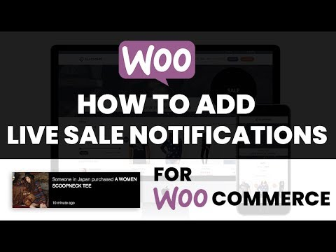 How To Add Live Sales Notifications To Your eCommerce Website With WooCommerce
