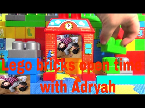 Lego bricks open time  with Adryah