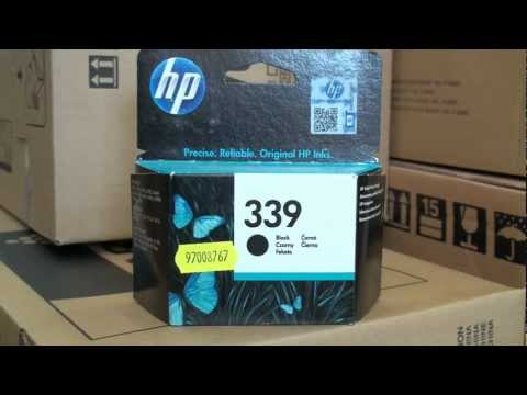 HP C8767EE No.339 black 21ml