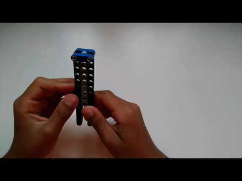Lego butterfly knife tutorial