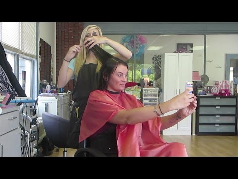 WORKING AT THE HAIR SALON│9•11•14 DAILY VLOG