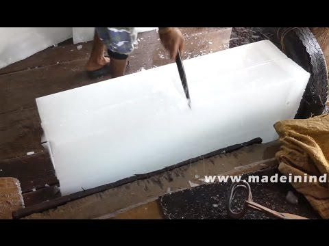Icemaker | Ice Generator | Ice Making Machine | MAKING OF HUGE ICE CUBES