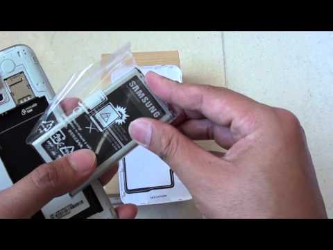 Samsung Galaxy S5: How to Insert/Remove a Battery