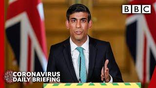 Coronavirus: Update on furlough scheme - Covid-19 Government Briefing 🔴 - BBC